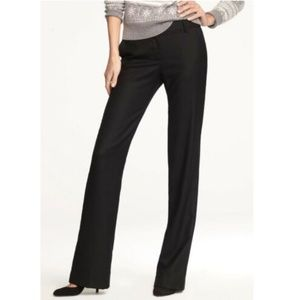 J Crew Black Cafe Trousers